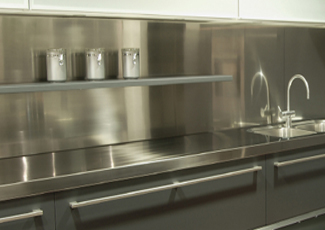 North Las Vegas, NV Stainless Steel Countertop