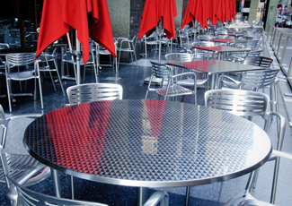Stainless Steel Dining Table Paradise, NV